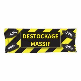 Banderole Destockage