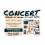 Bâche pour concert musical