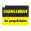 Sticker changement de propriétaire